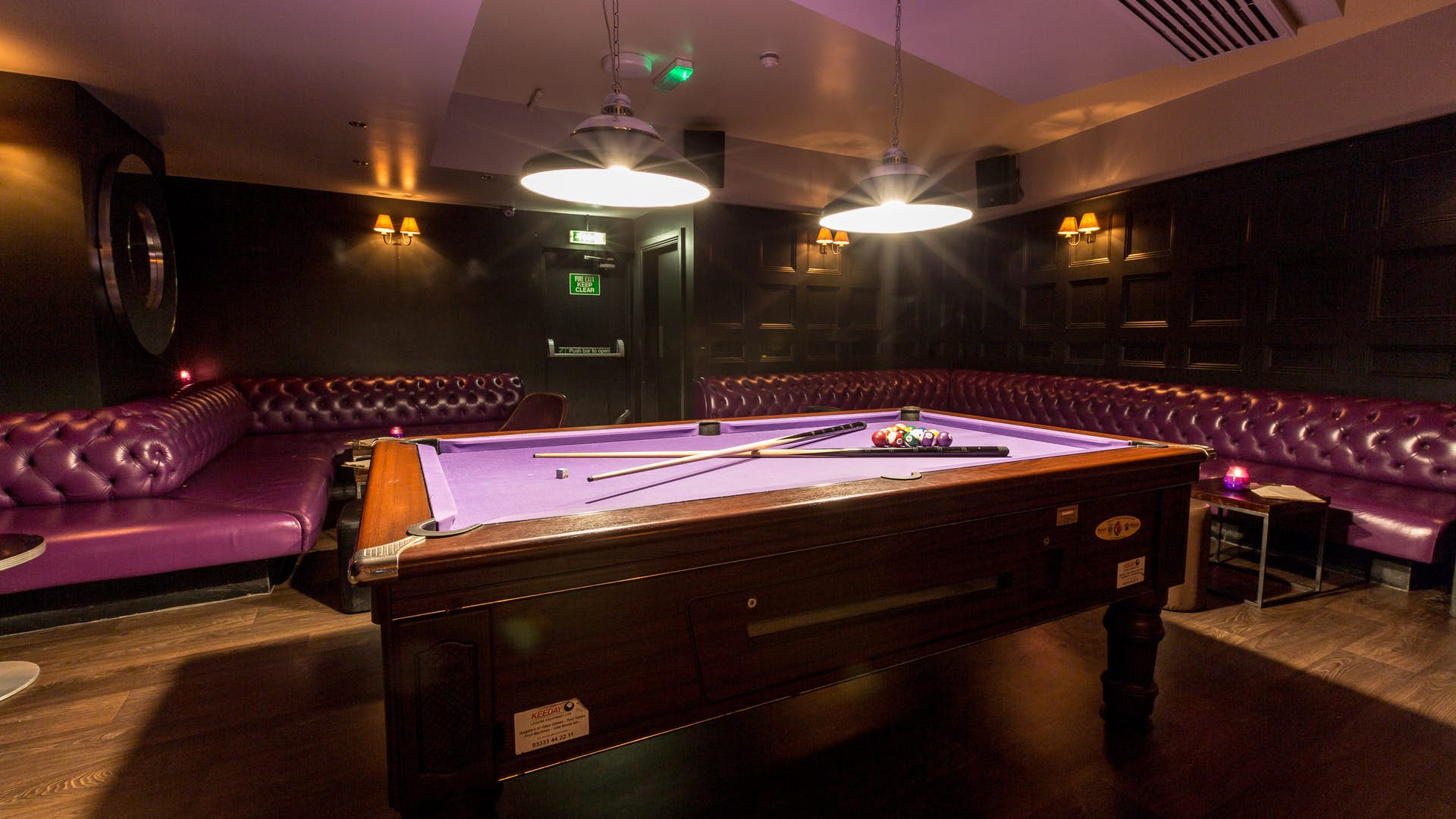 Black Dog Ballroom Pool Prices