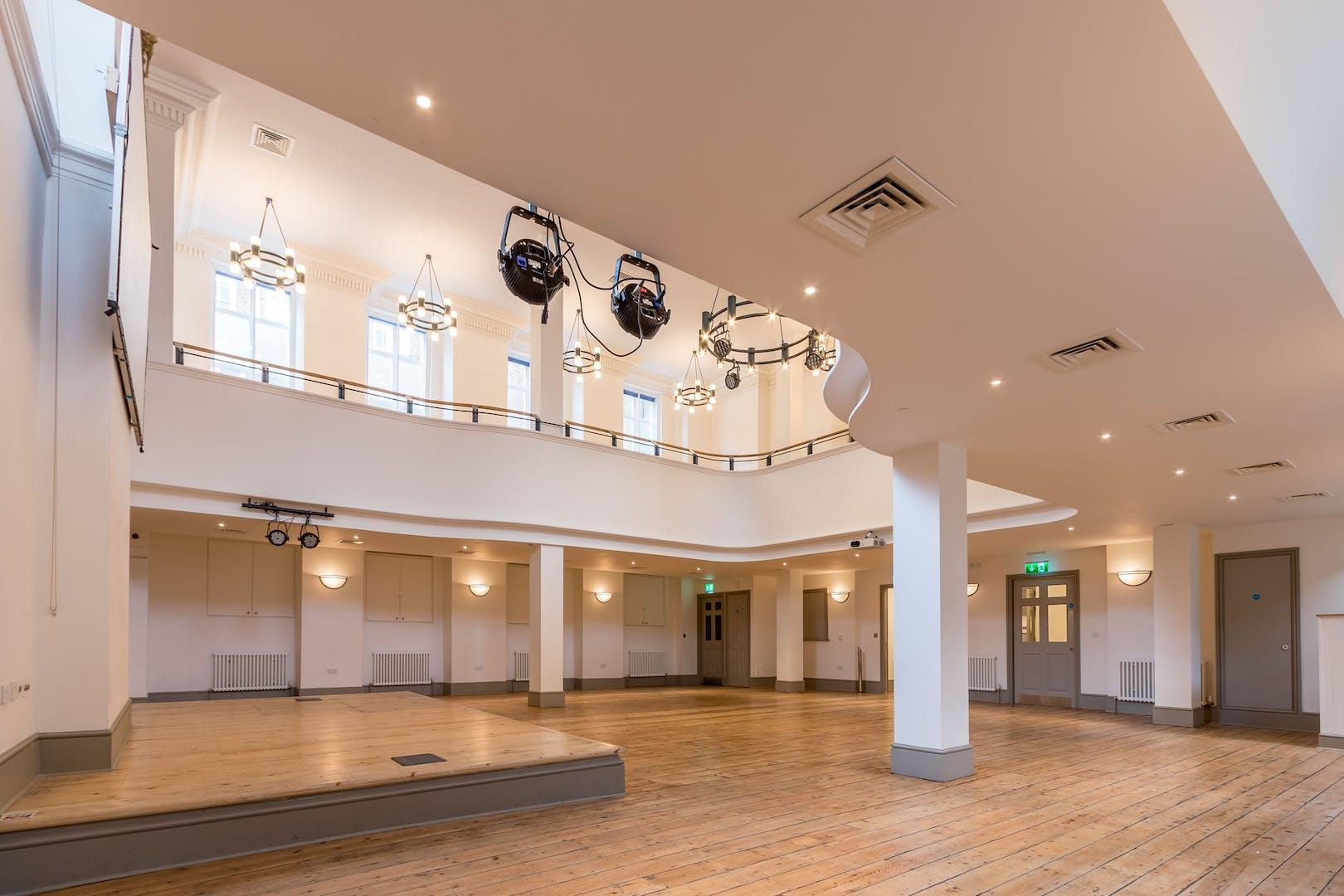 Hanbury Hall Arts Spitalfields Venue