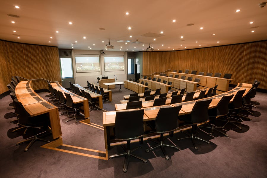 Photo of Lecture Theatre VI, eni, VIII at Park End Street Venue, Saïd Business School, University of Oxford