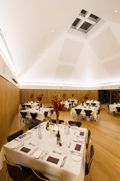 Photo of Pyramid Dining Room at Park End Street Venue, Saïd Business School, University of Oxford