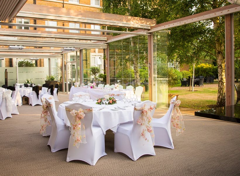 Photo of Terrace at Oatlands Park Hotel