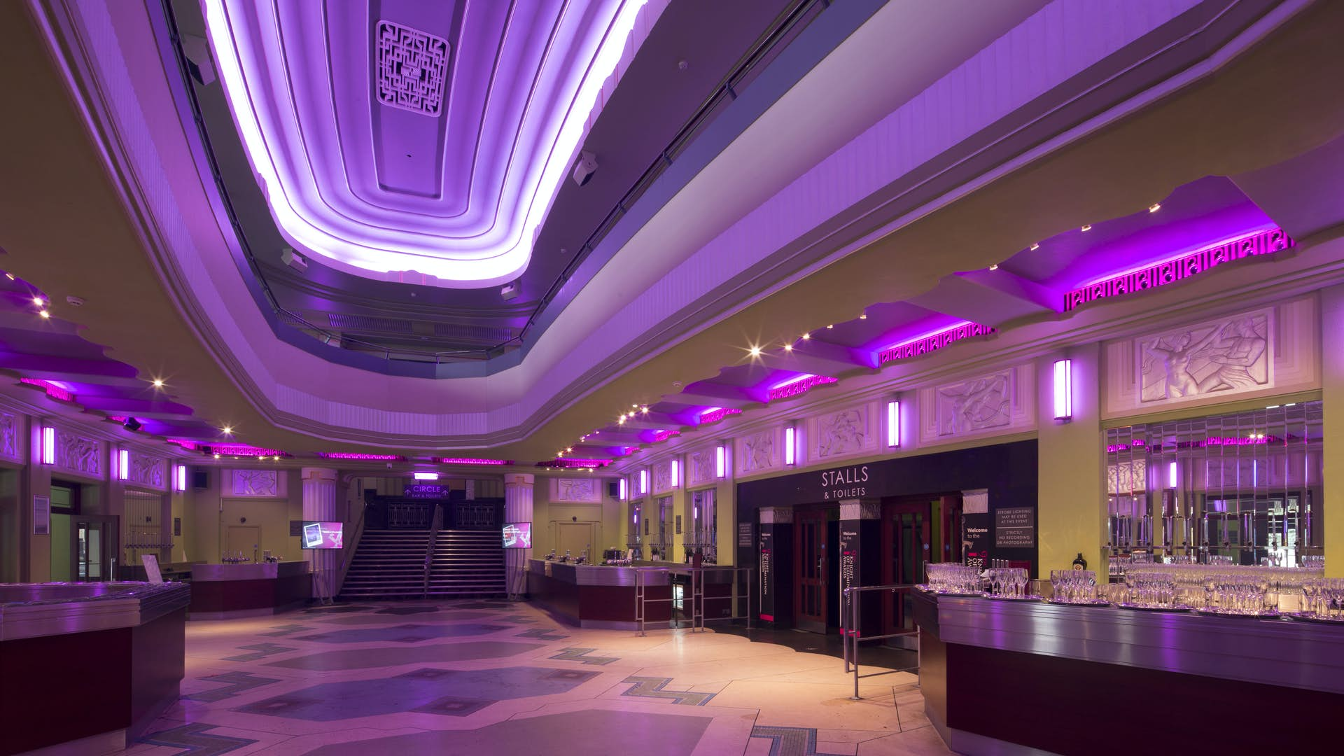 Eventim Apollo foyer