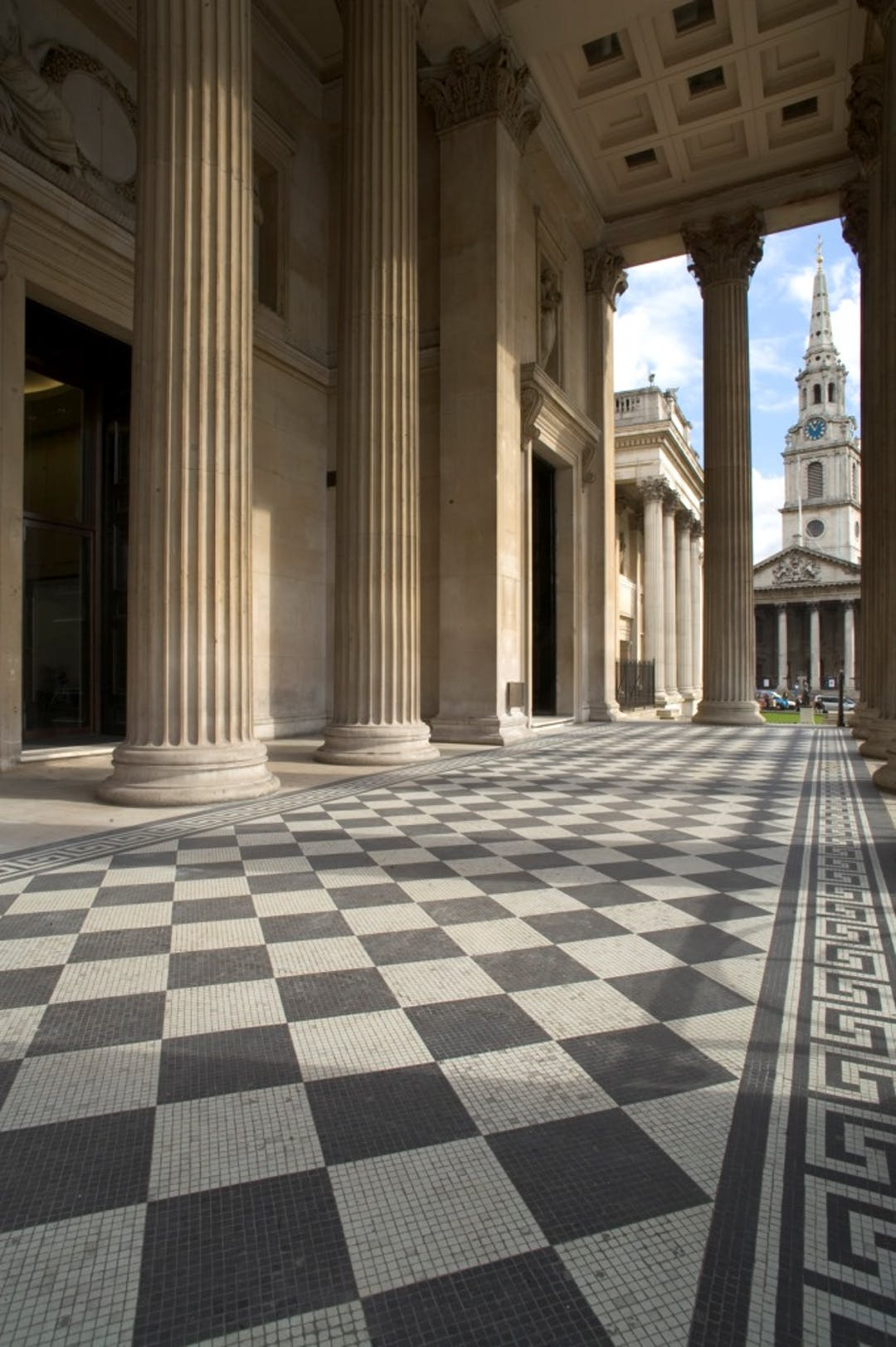 The National Gallery, Portico Terrace