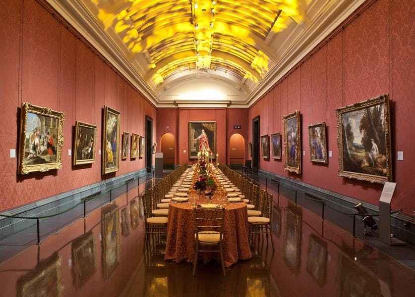 Photo of Yves Saint Laurent Room at National Gallery