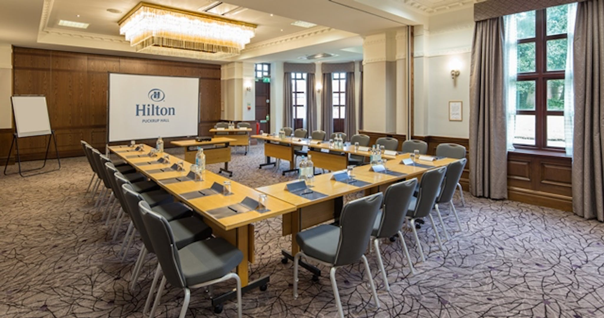 Gloucester Suite Business Hilton Puckrup Hall Tewkesbury