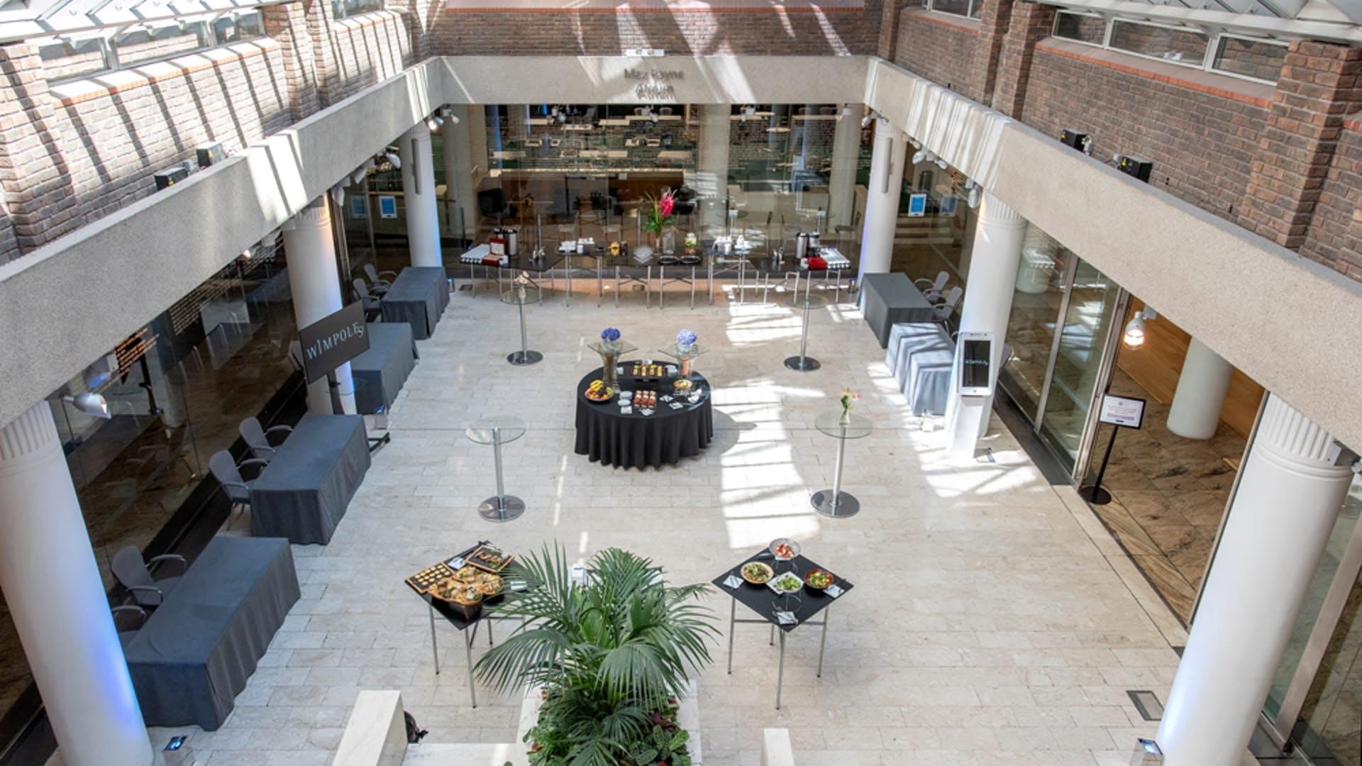 Atrium at 1 Wimpole Street