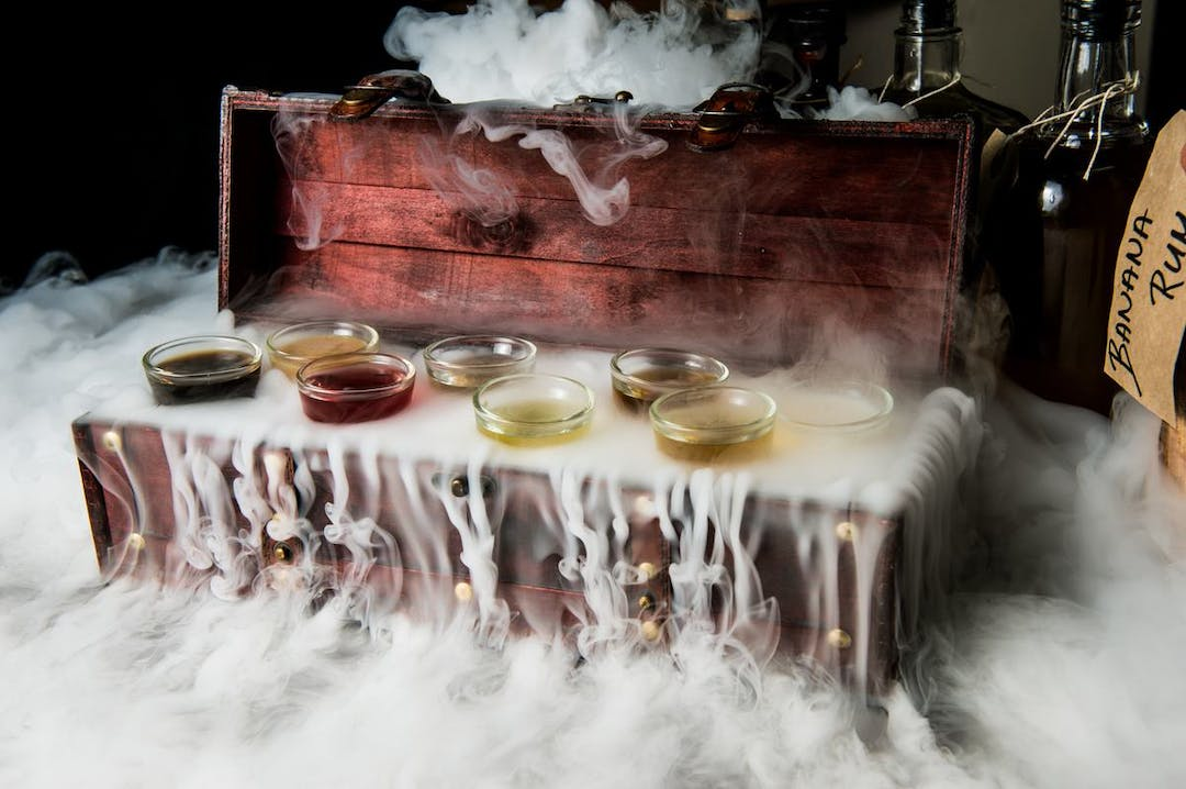 Dry Ice Cocktails