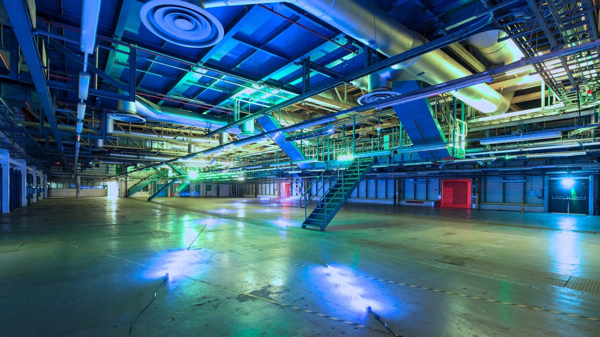 Warehouse Space at London Printworks