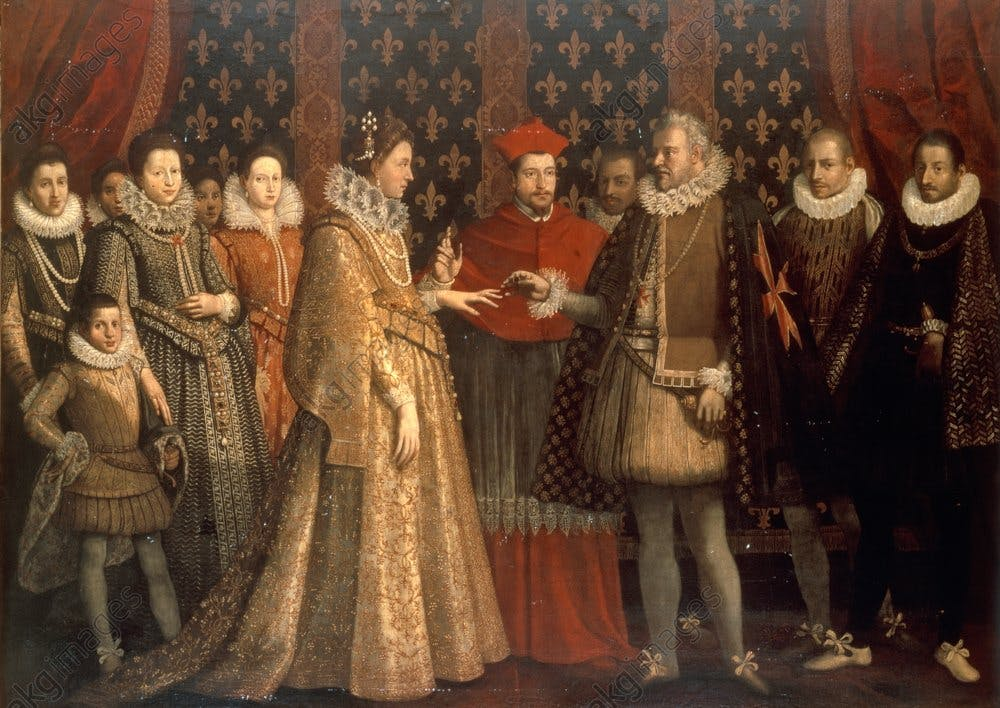 Maria de Medici's wedding to Henry IV of France