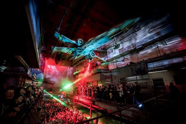 Printworks hosts Star Wars by Secret Cinema