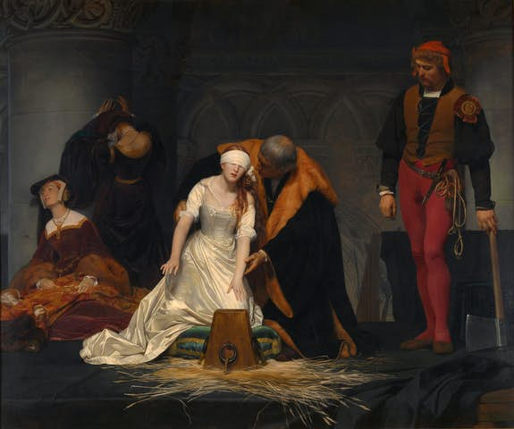 Beheading of Lady Jane Grey