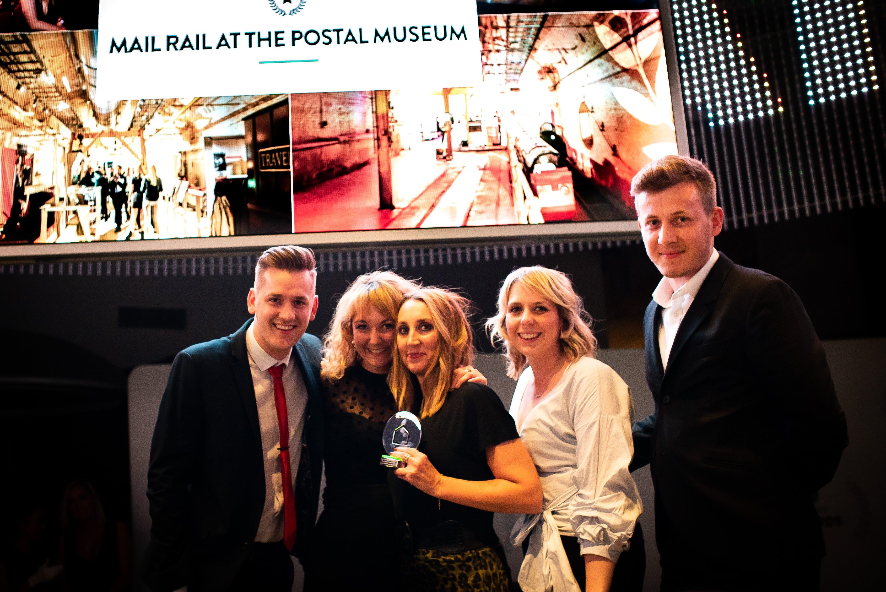 Mail Rail at Postal Museum