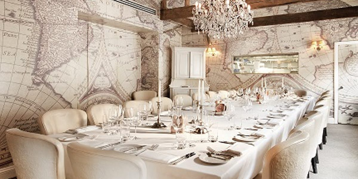 Hire mews of mayfair for Q dining room london