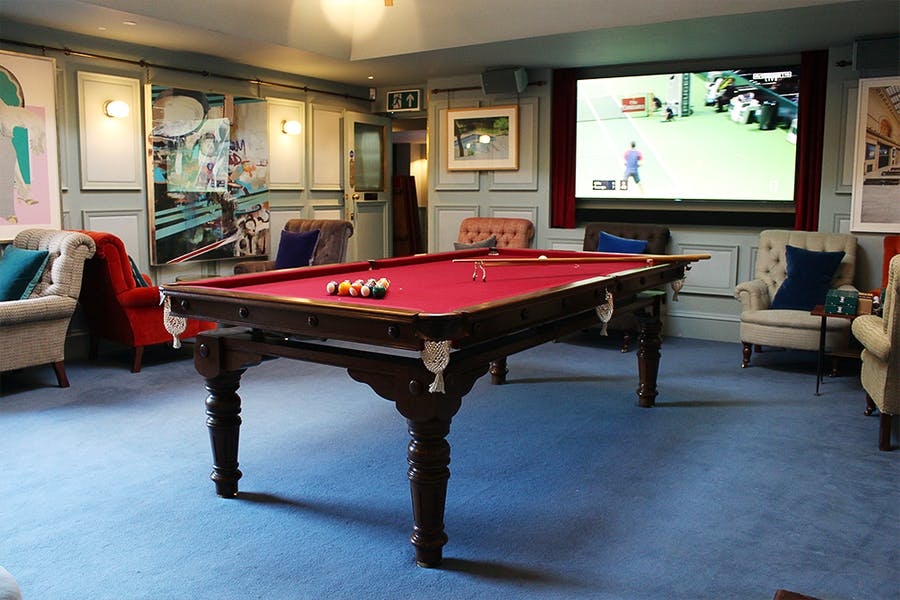 Photo of Snooker Room at The Groucho Club
