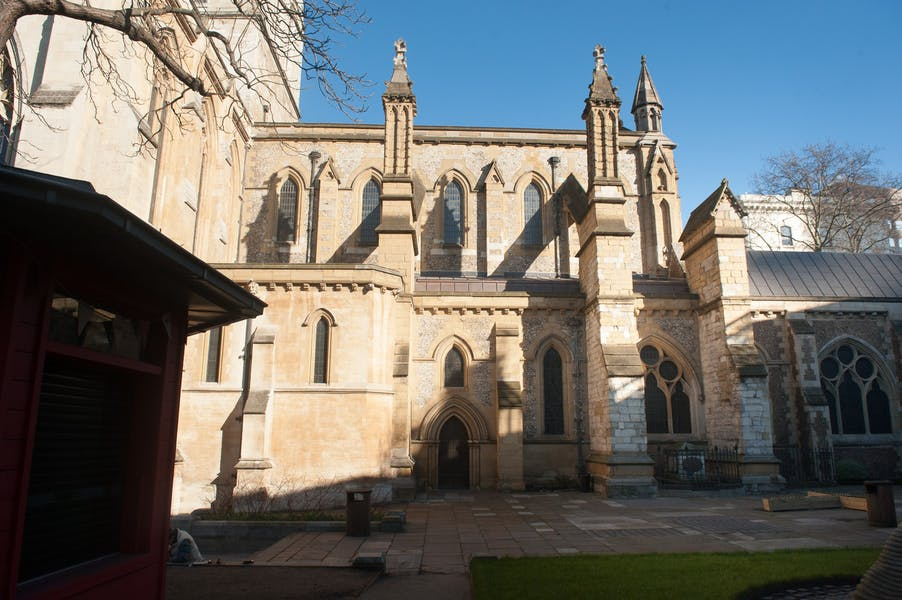 Photo of Churchyard at Southwark Cathedral