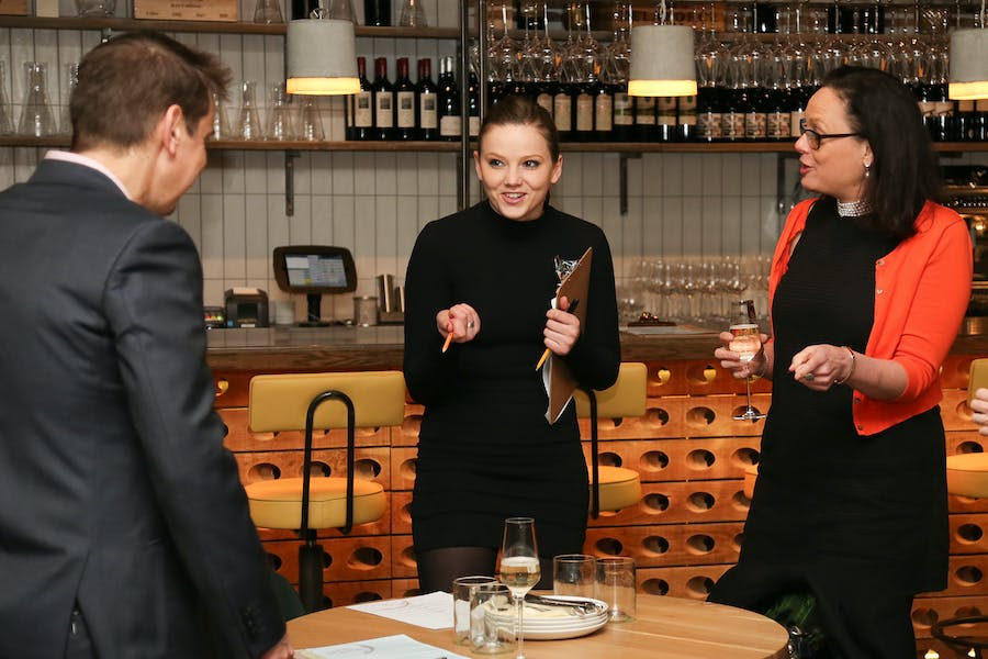 Photo of Private Dining Room  at Humble Grape Fleet Street