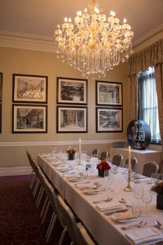... Photo Of Melville Room At Chiswell Street Dining Rooms ... Part 27