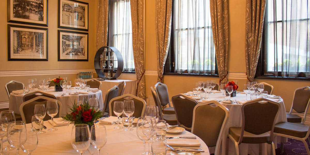Chiswell Street Dining Rooms Melville Room