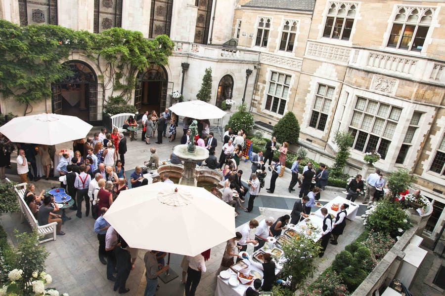 Photo of Courtyard Garden  at Merchant Taylors' Hall