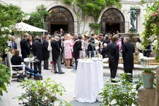Hire Space - Venue hire Courtyard Garden  at Merchant Taylors' Hall