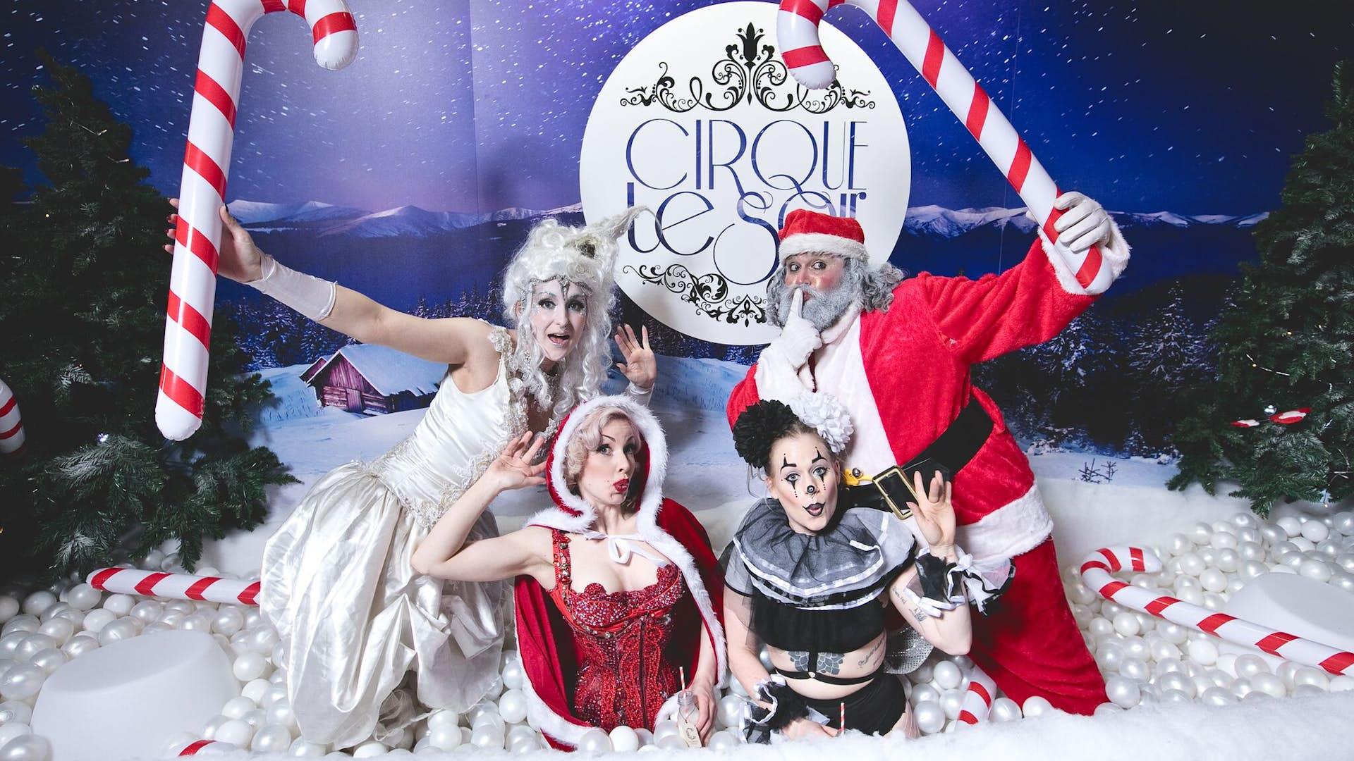 Cirque Le Soir Christmas