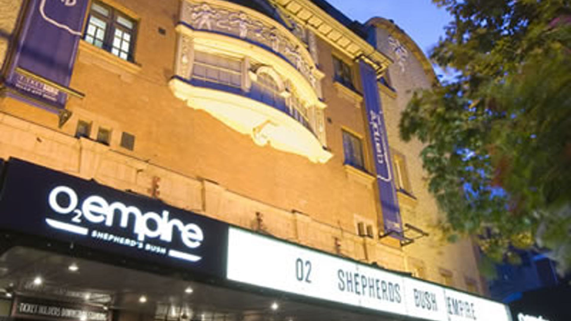 Whole Venue | Events | O2 Shepherds Bush Empire