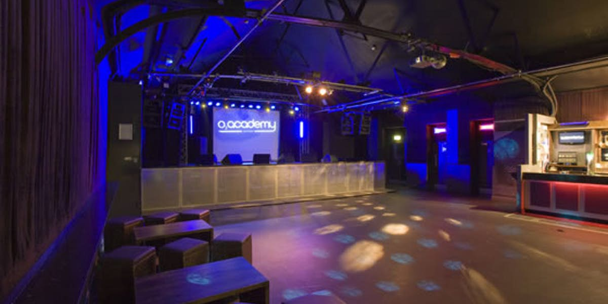 Hire o2 academy oxford for Green room birmingham