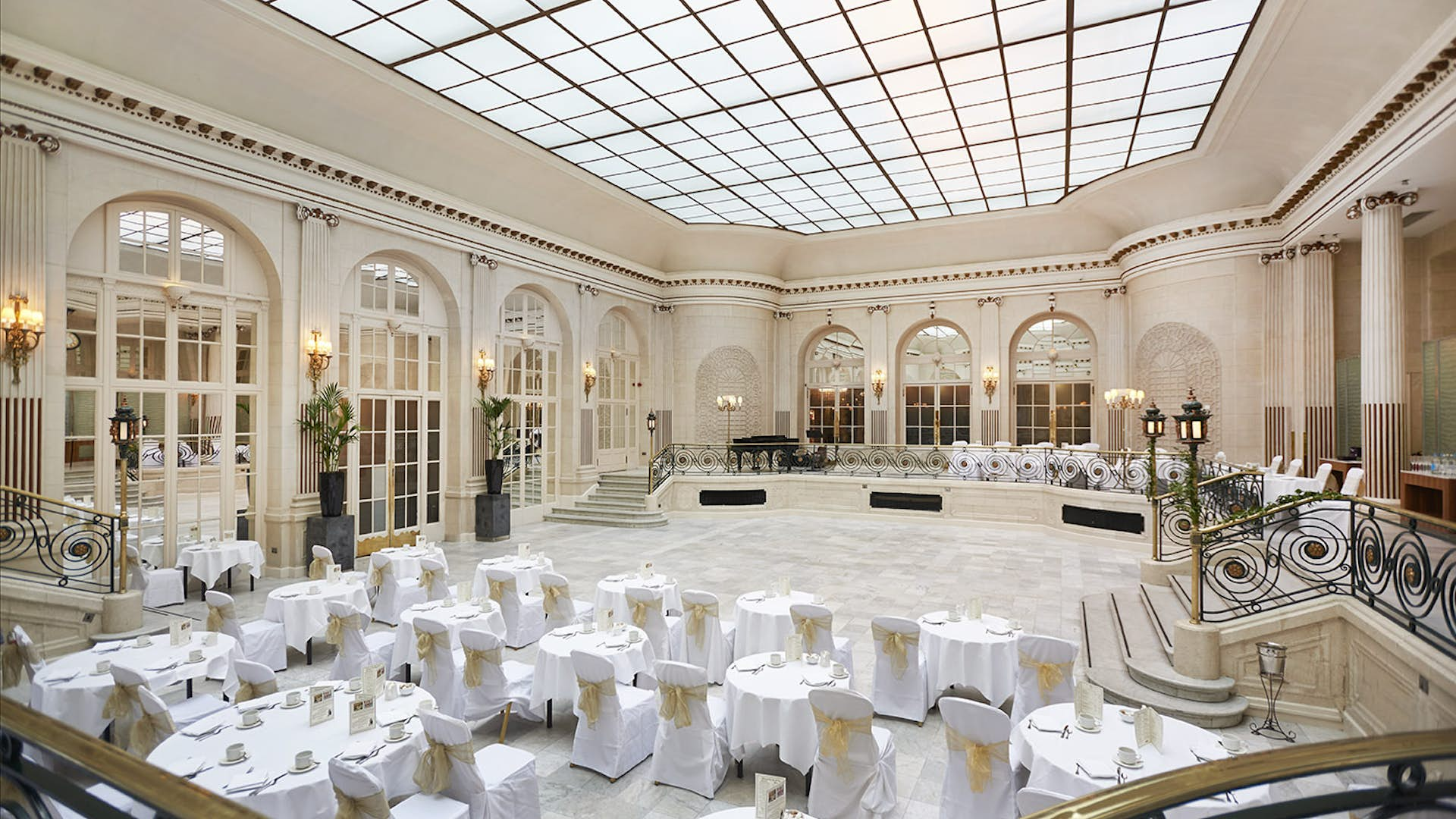 Palm Court and The Adelphi Suite | Weddings | The Waldorf ...