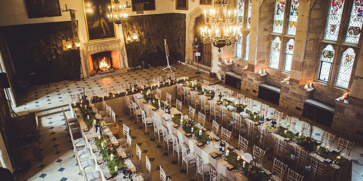 Photo Of Whole Venue At Berkeley Castle