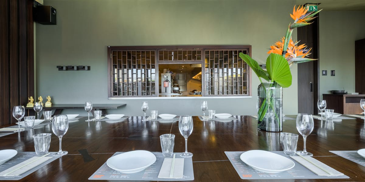 Hire busaba westfield stratford city for Best private dining rooms city of london
