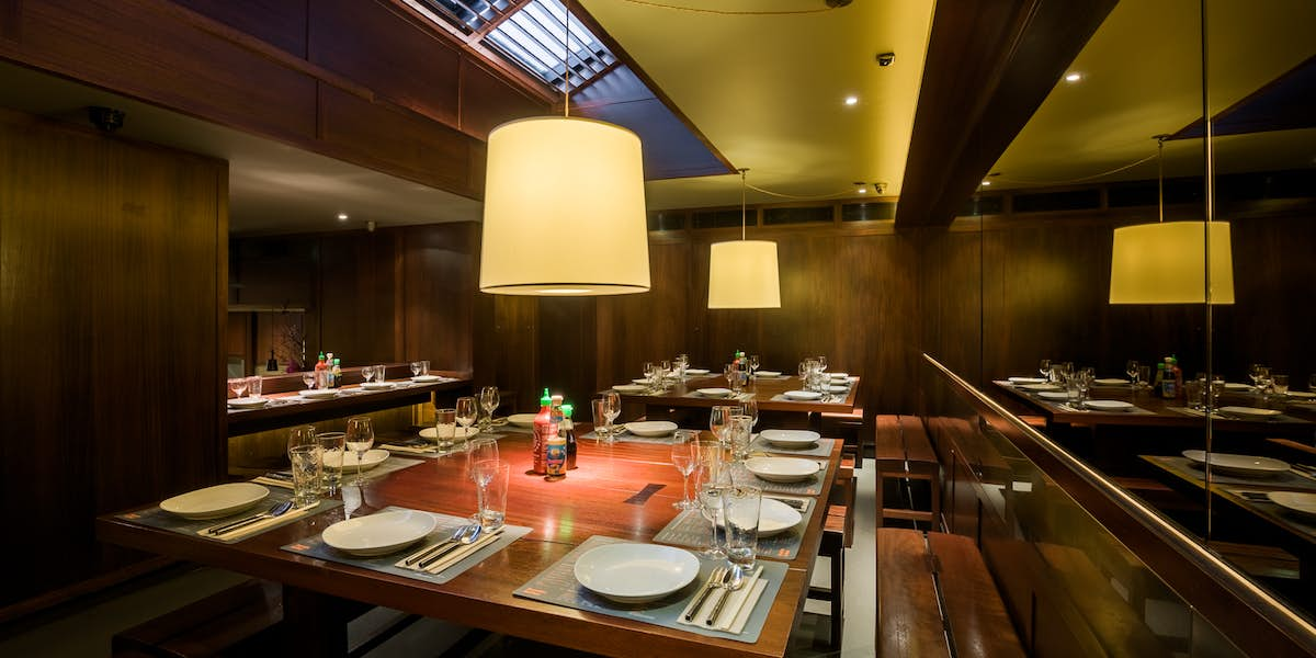 Hire busaba covent garden for Q dining room london