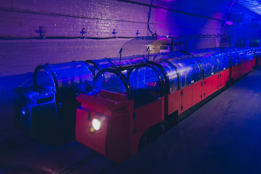 Photo of Mail Rail at The Postal Museum