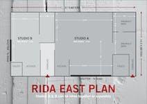 Hire Space - Venue hire Studio A at Rida East