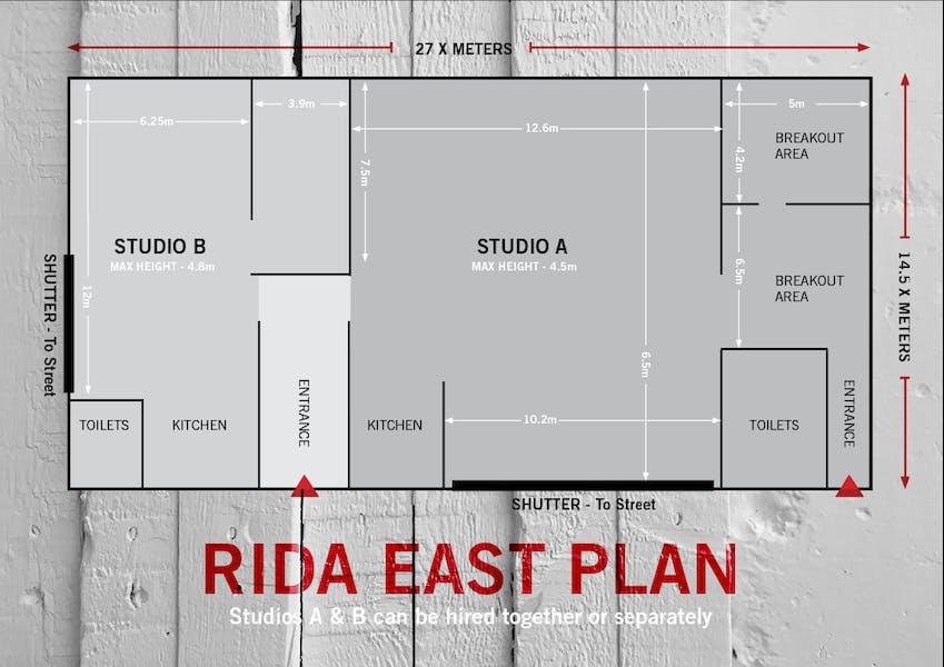 Photo of Studio B at Rida East