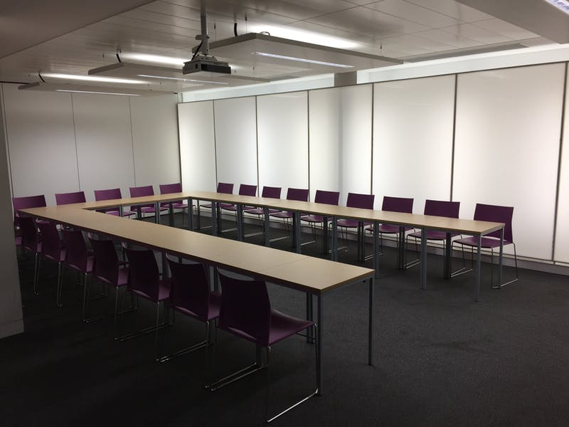 Photo of Blomeley Room 1 at Queen Mary University Students' Union