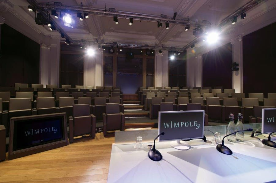 Photo of Naim Dangoor Auditorium  at 1 Wimpole Street