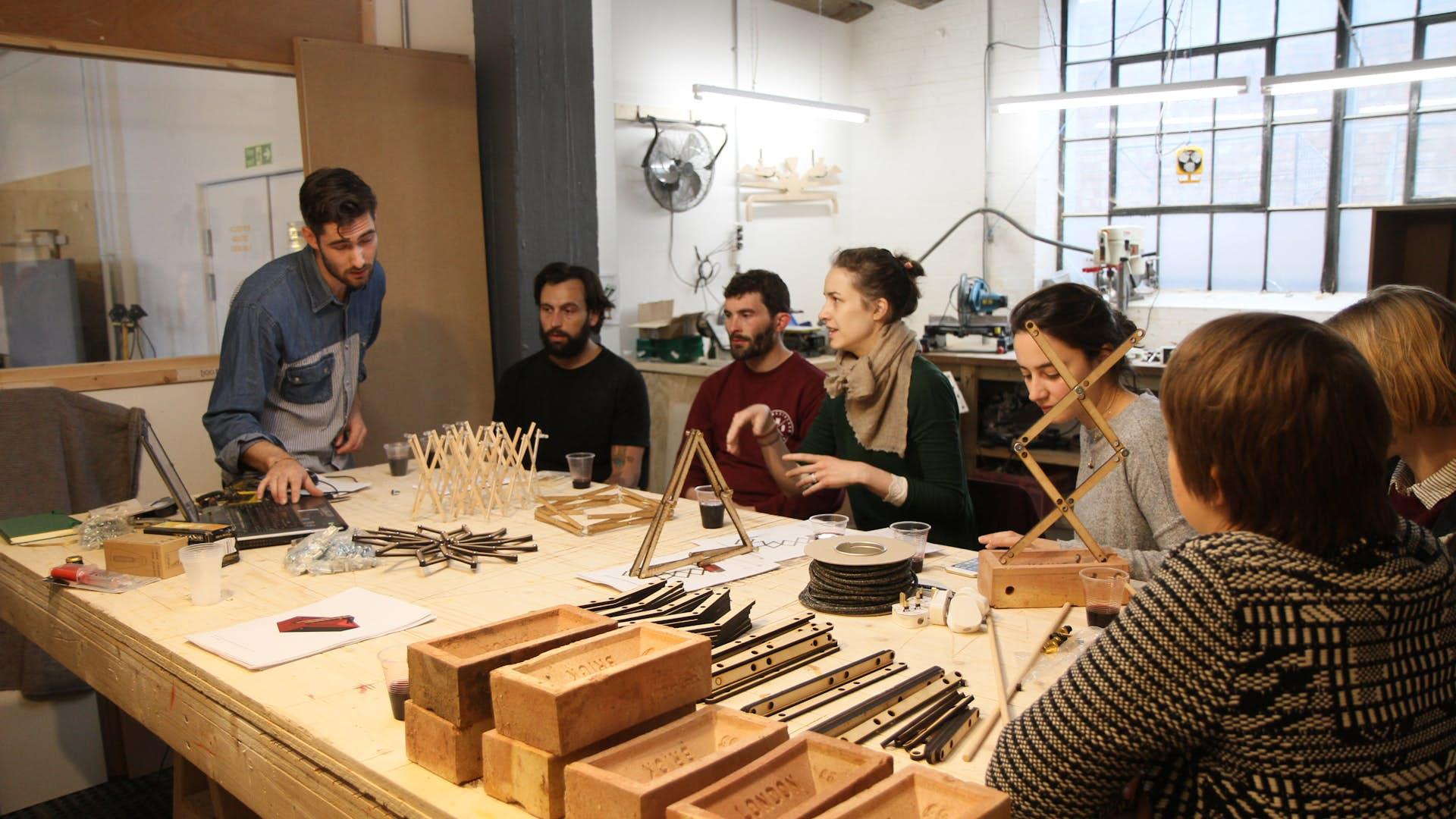 wood workshop   business   machines room maker space