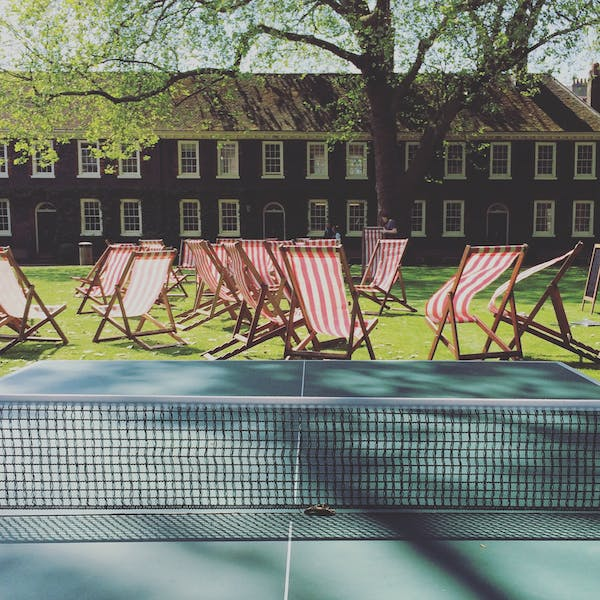 Photo of Front Lawns at The Geffrye Museum