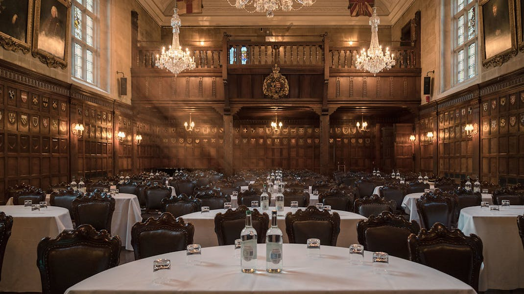 Photo of The Banqueting Hall and The Drawing Room at Ironmongers' Hall