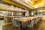 Kitchen Bar   at St Pancras Brasserie and Champagne Bar by Searcys