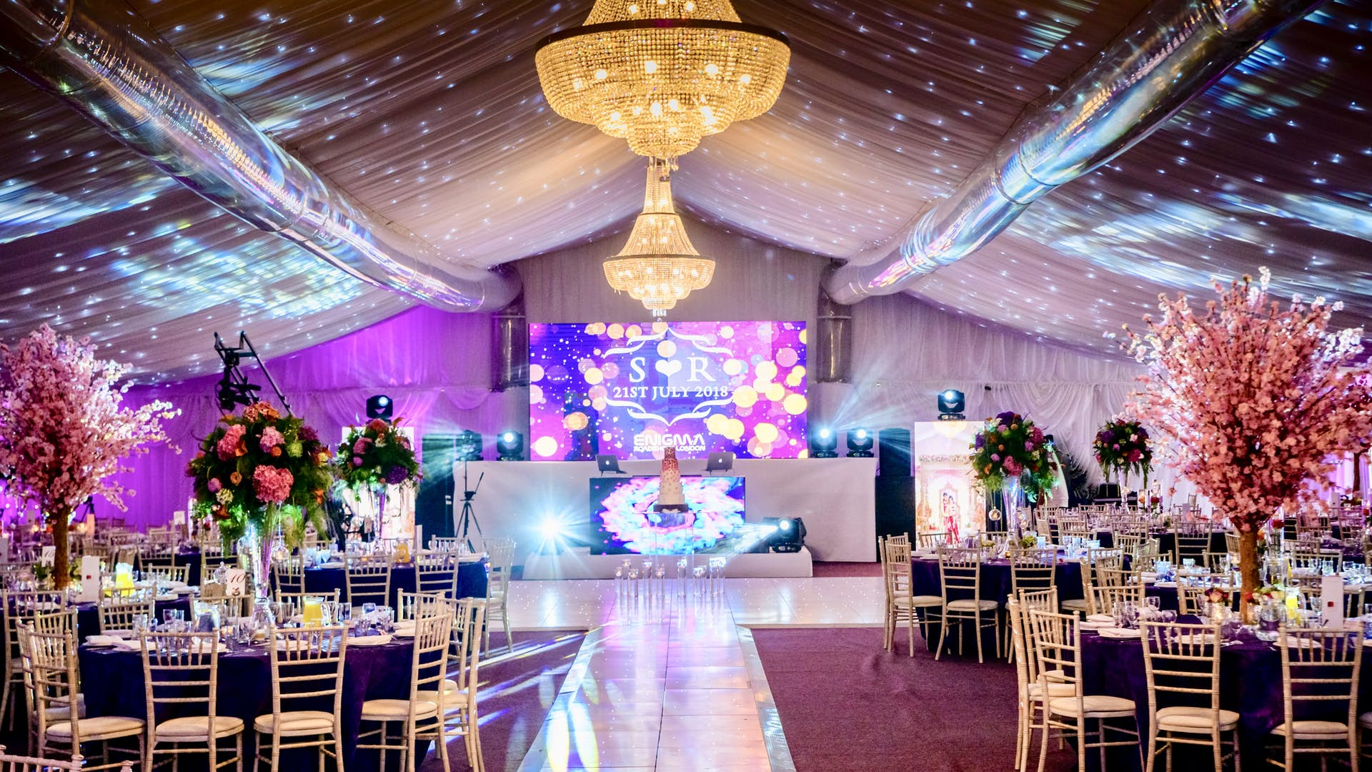 The Stockley Marquee | Weddings | Stockley Park Golf Course