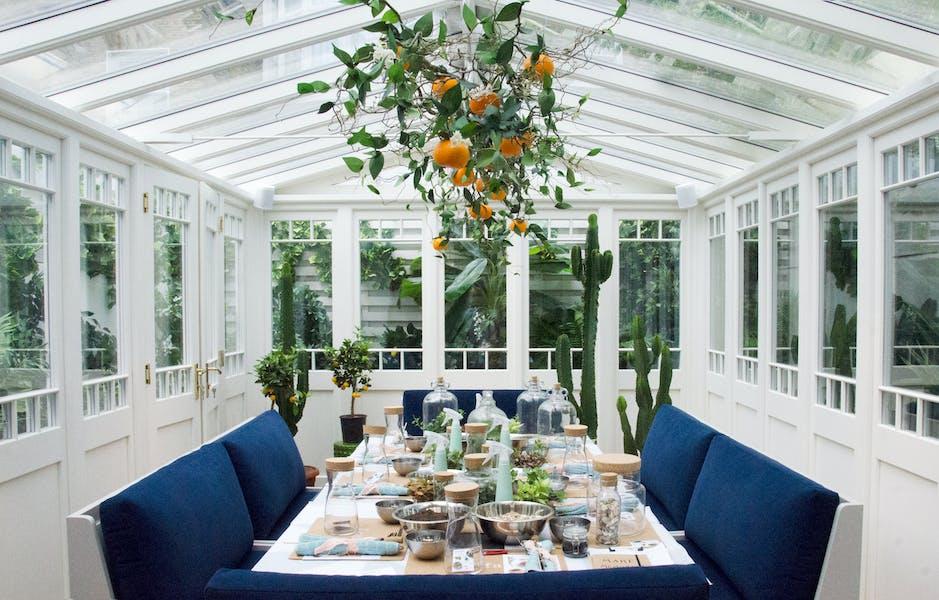 Photo of Conservatory at Gazelli House