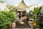 Garden Terrace at Gazelli House