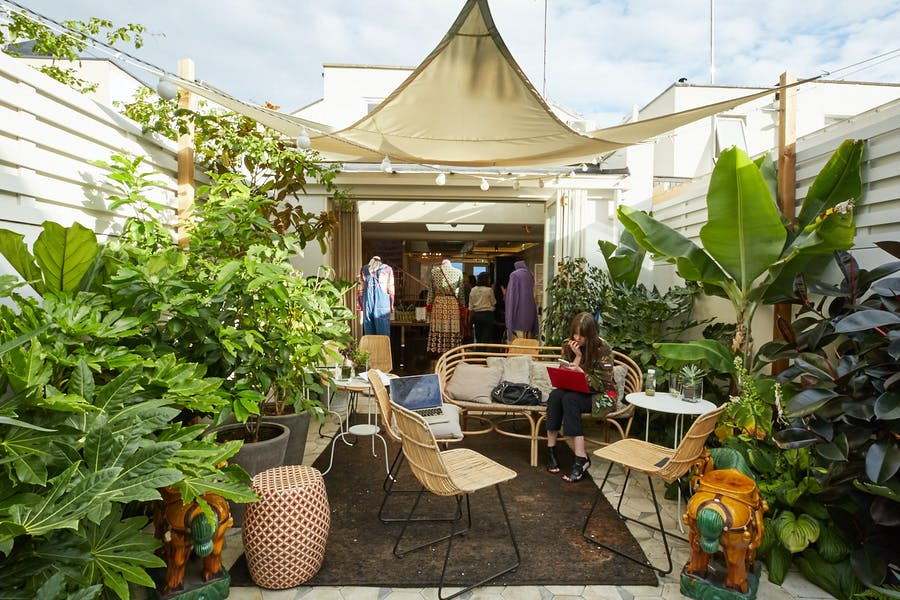Photo of Garden Terrace at Gazelli House