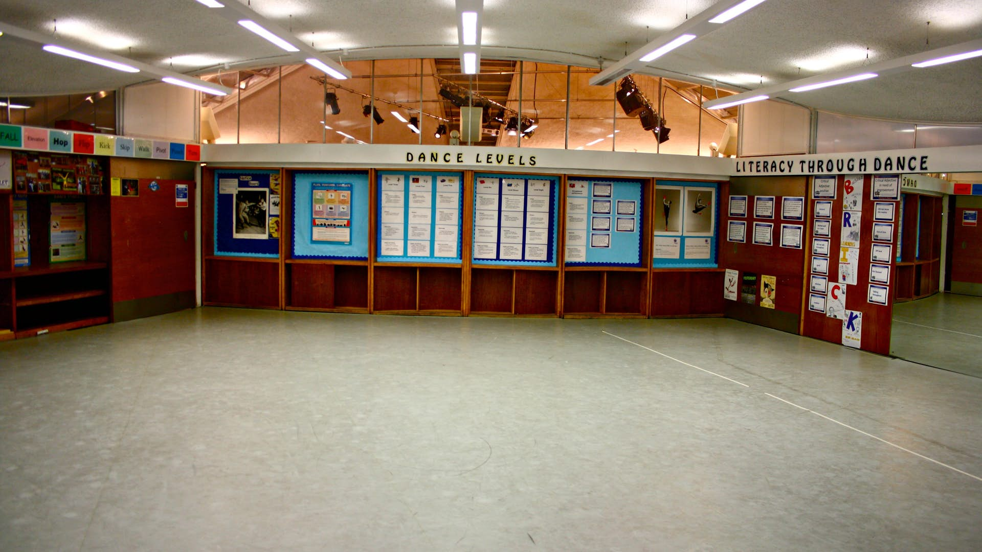 Dance studio arts hire globe venue for Porte arts and dance studio