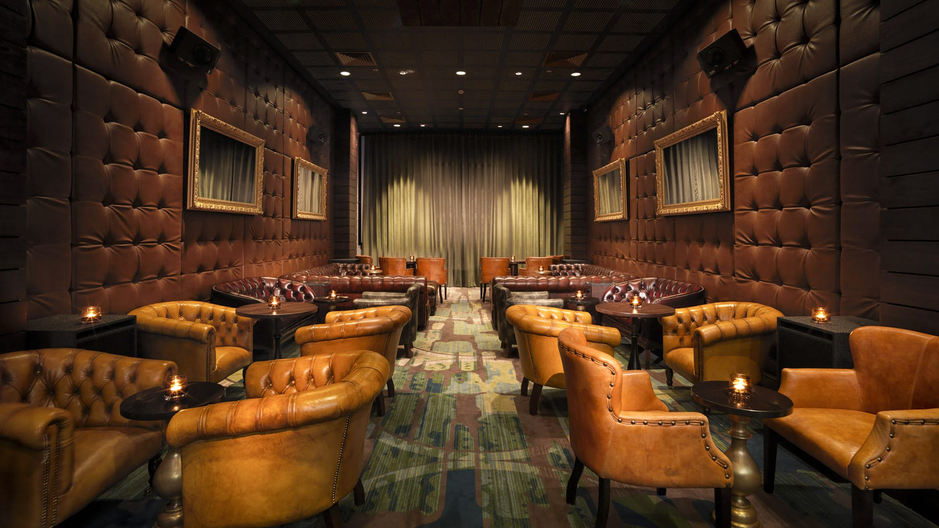 Screening Room Pop Up The Curtain Hotel Amp Members Club