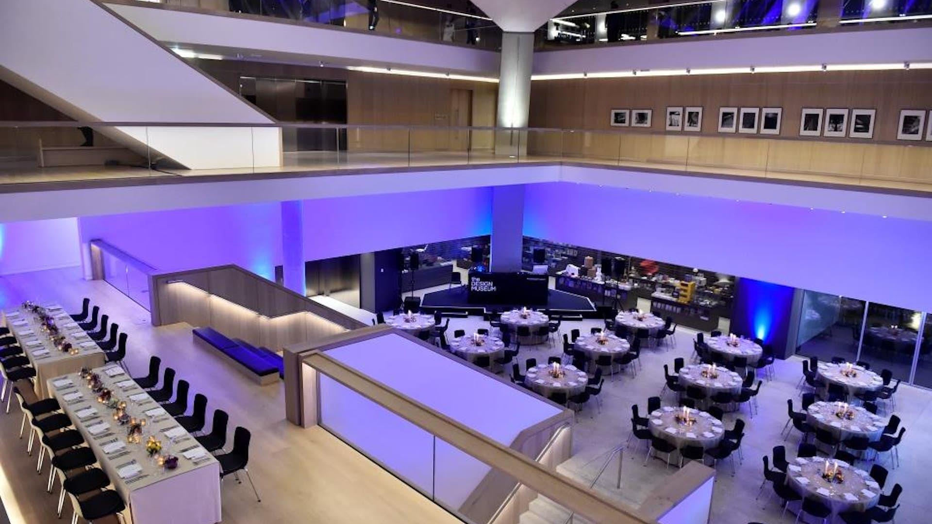 The atrium dining design museum