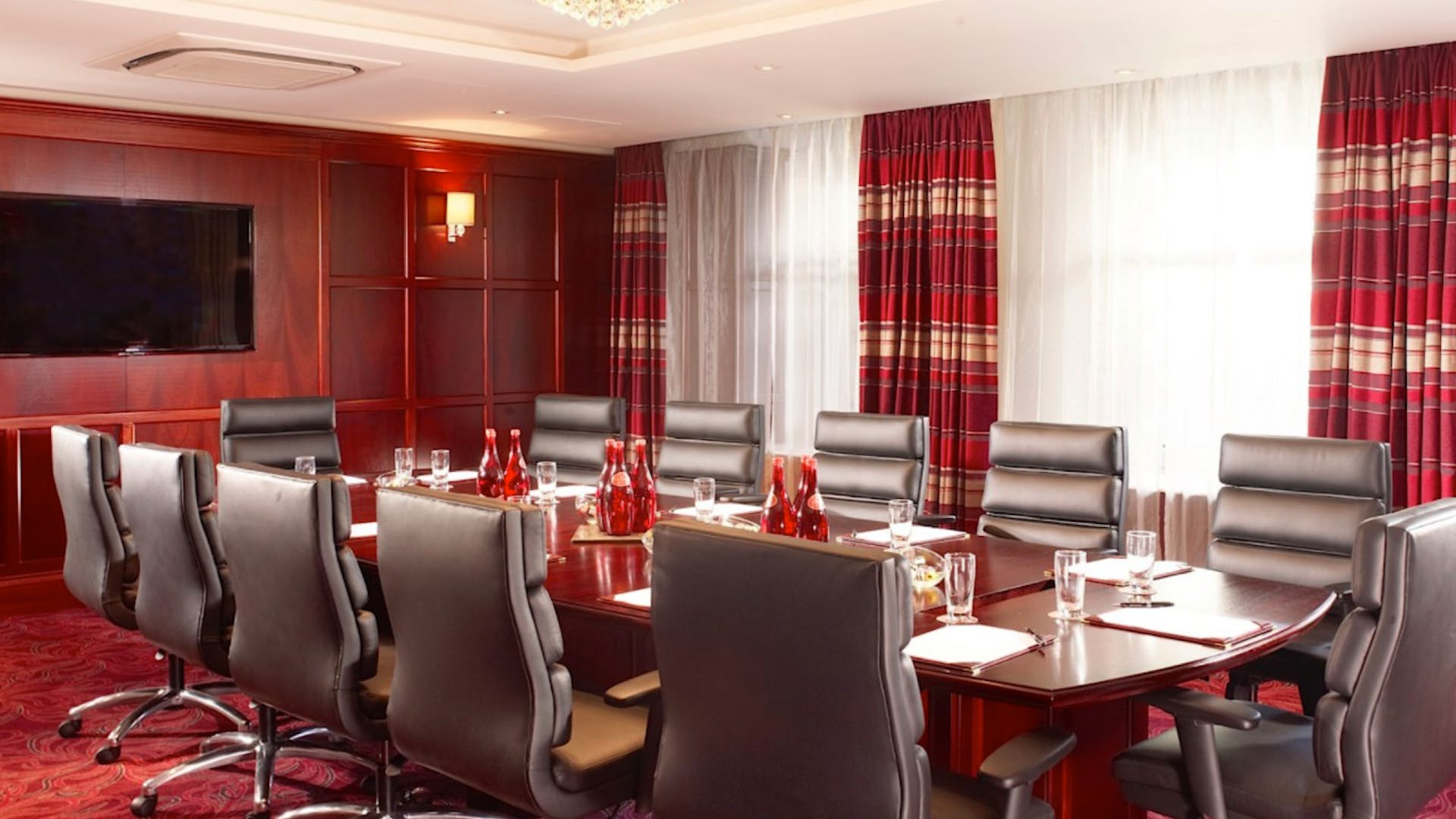 The Ghan Boardroom