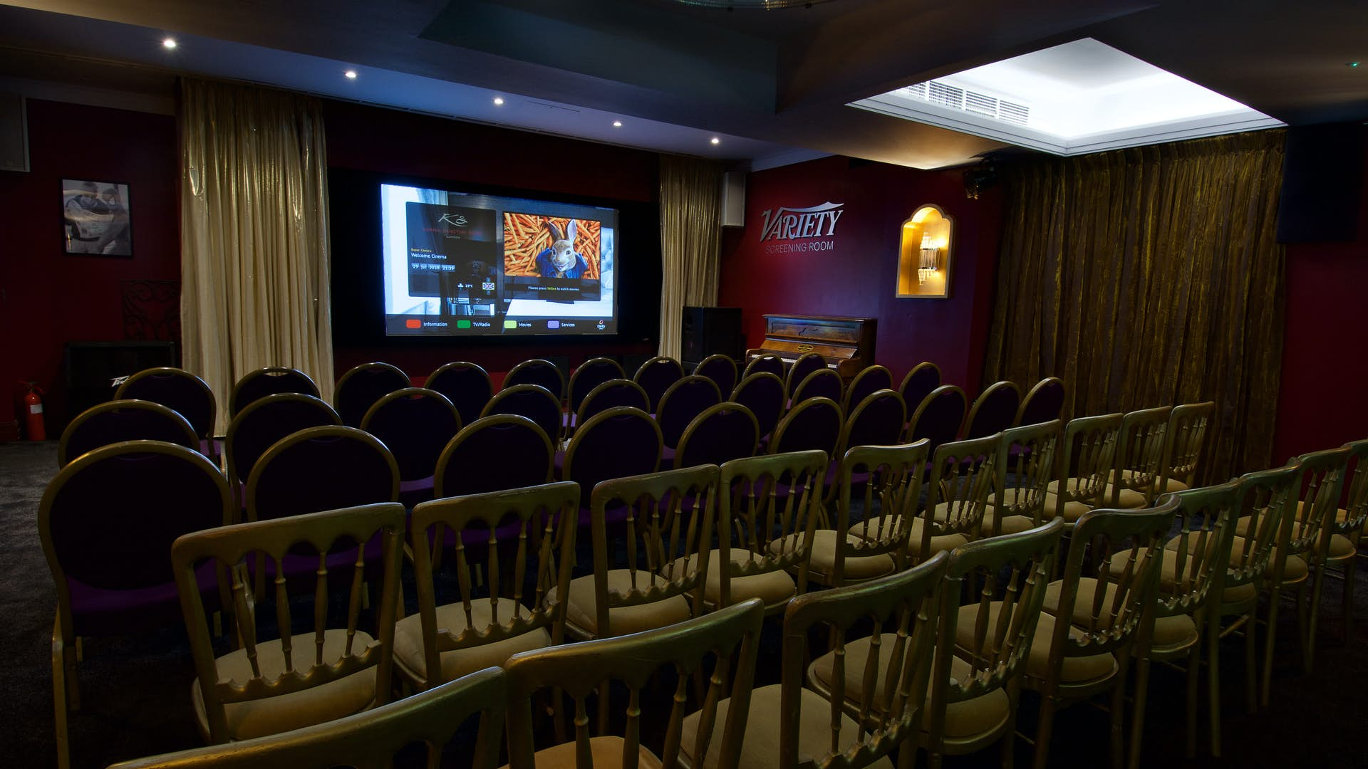 sports shoes 48027 9cd1b ... Hire Space - Venue hire The Cinema Room at Karma Sanctum Soho Hotel  Restaurant Bar and