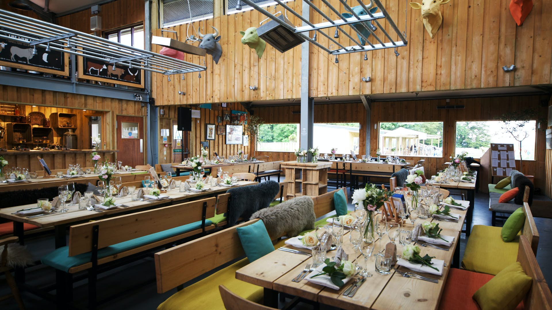 The Cow Co Restaurant Weddings Tapnell Farm